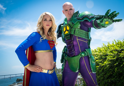 Lex Luthor & Supergirl