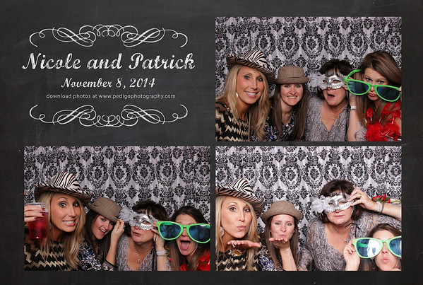 11.8.14 Nicole and Patrick Photo Booth