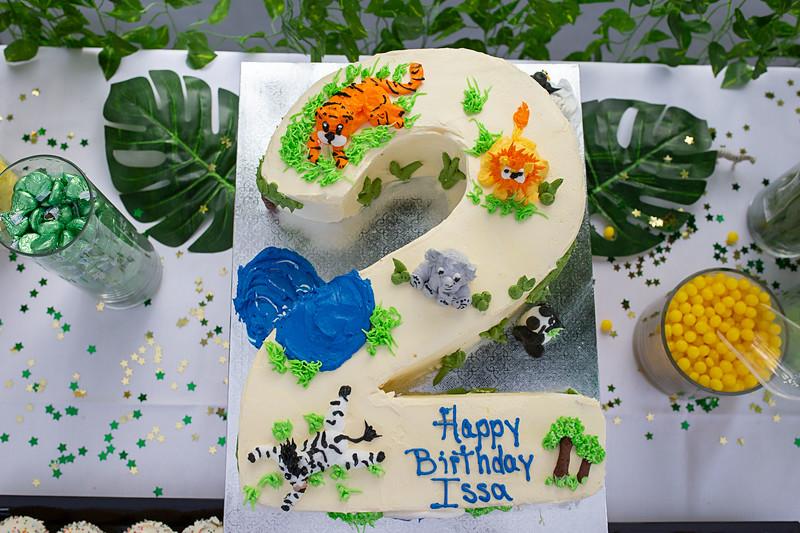 Issa's 2nd Birthday