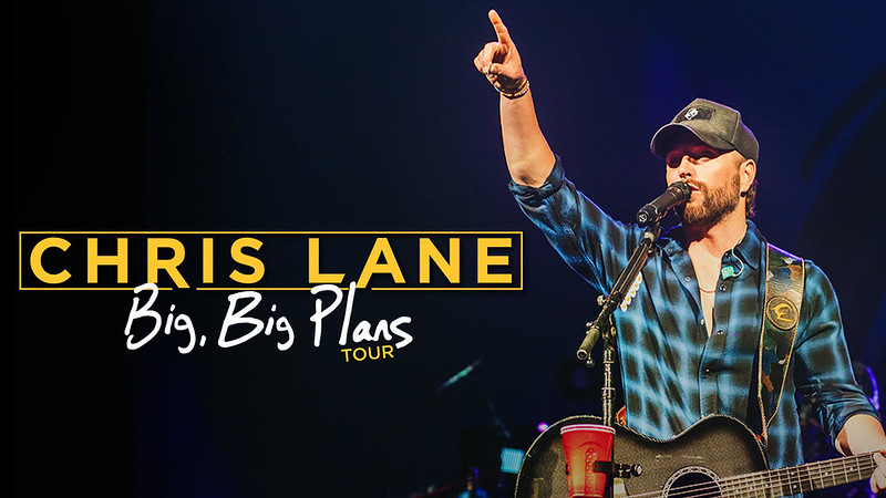 Chris Lane - The Big, Big Plans Tour
