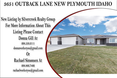 3651  OUTBACK LANE NEW PLYMOUTH IDAHO - DONNA GILL