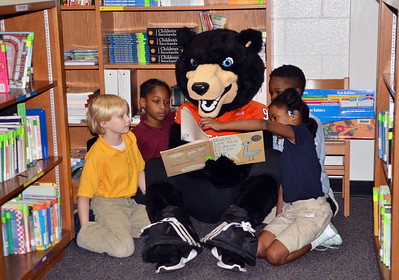 2018 Toby visits Ingram Pye Elementary School