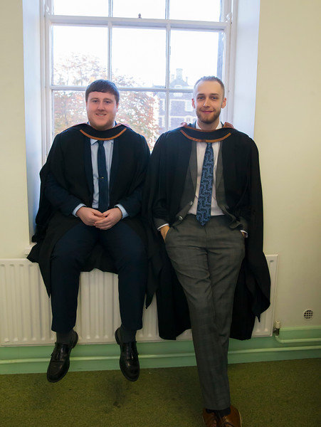 01/11/2018. Waterford Institute of Technology (WIT) Conferring Ceremonies 2018. Pictured are Shane Purcell and Conor Butler from Waterford. Picture: Patrick Browne
