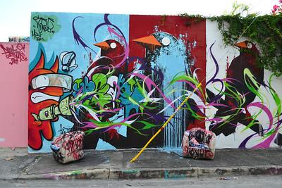 Miami Graffiti - Wynwood Art District