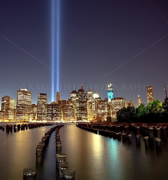 Tribute in Light and Ground Zero: Images from December 2001-September 2017.  I have taken photos all 17 times these glorious lights have appeared in the sky above Lower Manhattan.