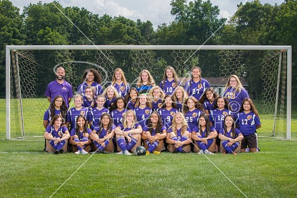 2018 Girls Soccer Team