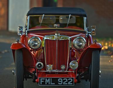 1937 MG TA Midget FML 922