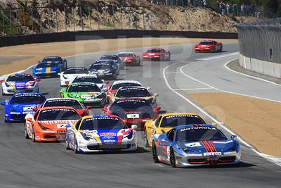 2012 Ferrari 458 Challenge Mazda Raceway Laguna Seca