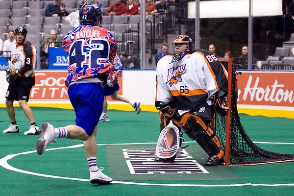 Buffalo Bandits @ Toronto Rock 20 Feb 2009