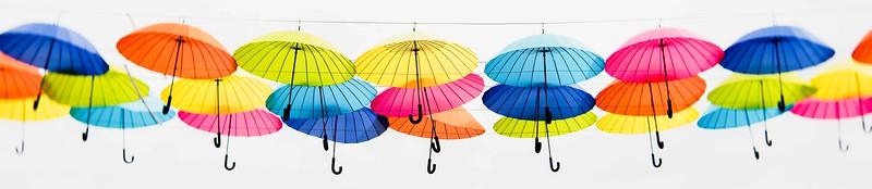Colorful Umbrellas  2017