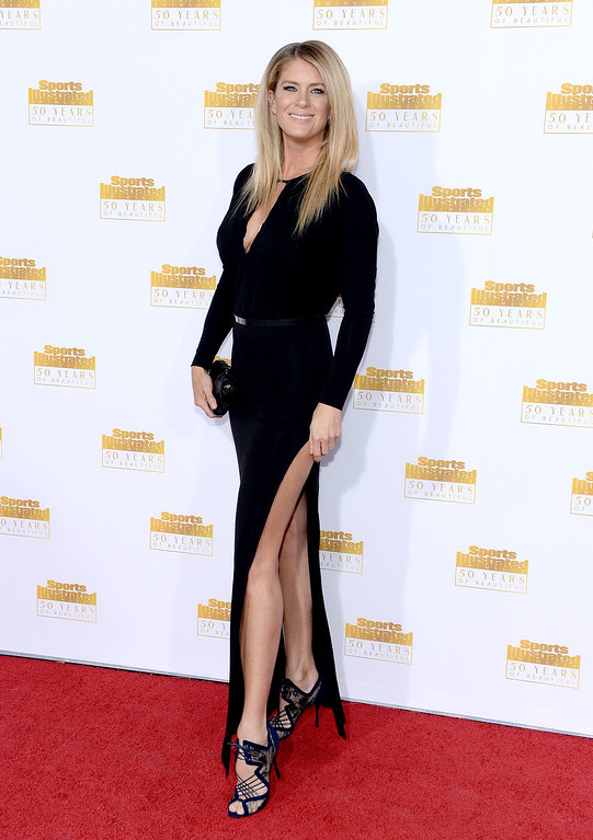 . Model Rachel Hunter attends NBC and Time Inc. celebrate the 50th anniversary of the Sports Illustrated Swimsuit Issue at Dolby Theatre on January 14, 2014 in Hollywood, California.  (Photo by Dimitrios Kambouris/Getty Images)