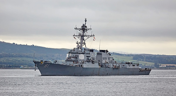 Joint Warrior 172 and Formidable Shield Exercises