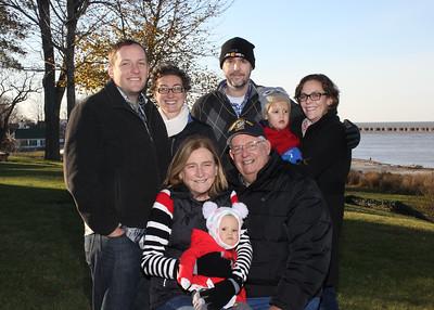 November 20, 2017. Sheila and Gary Romes Family
