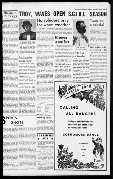 Daily Trojan, Vol. 36, No. 85, March 23, 1945