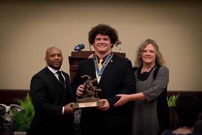 Cohlton Schultz: Dave Schultz High School Excellence Award
