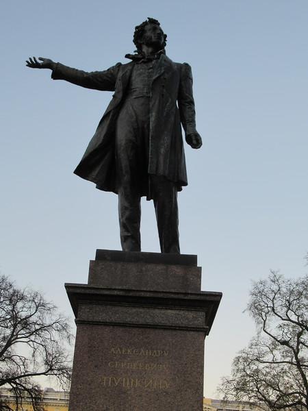 Alexander Pushkin Monument at the Art Square