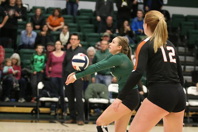 2017 Montana Tech Volleyball vs Montana State University Northern