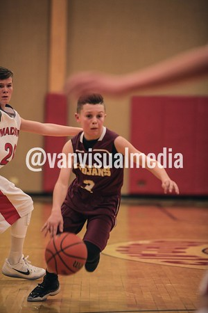 Rigby 8th Basketball