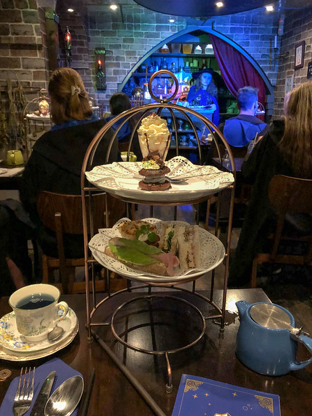 Harry Potter Potion Room afternoon tea