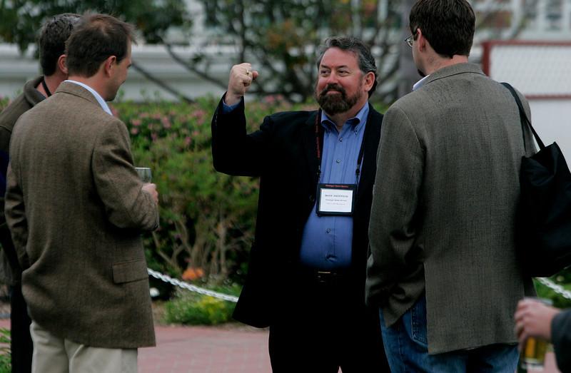 (L-R, from front): Kai de Altin Popiolek, Scott Gardner, Mark Anderson, and Tom Krazit