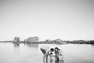 Stephanie + Ohana // Kukio Beach