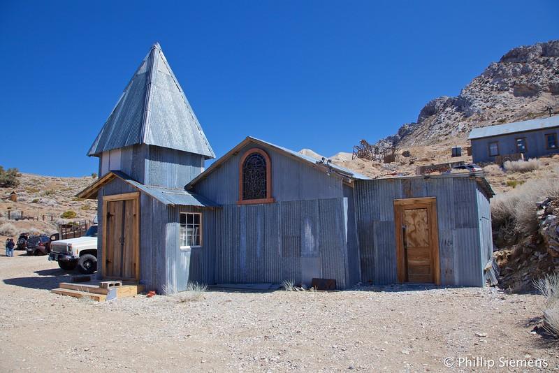 Cerro Gordo church