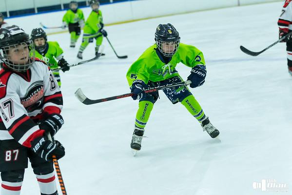 Hockey - Mercs Mite Squad  12-08-18