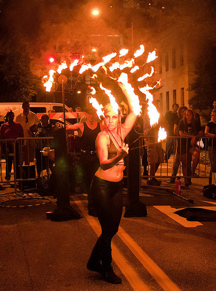 Rock the Block with Fire.