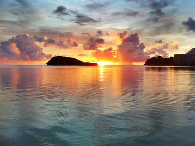 2011-07-23 Agana Bay Sunset