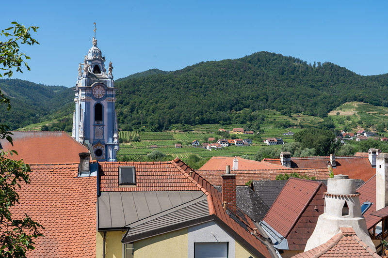 Rooftops of Dürnstein