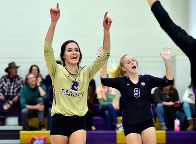 Photos: Holy Family vs Niwot CHSAA Volleyball