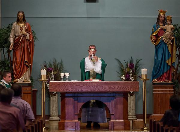 Fr. Busch's 1st Mass at St. Anns