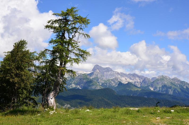 Mount Triglav. Julian Alps