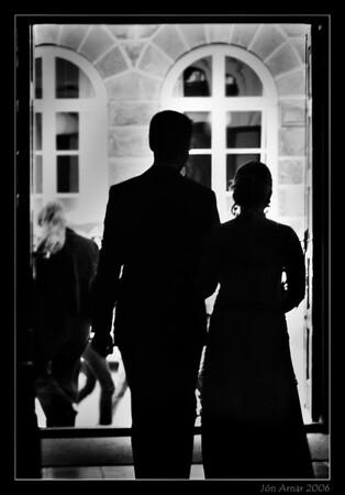 Gifting Braga Más og Kristínar Völu 27. ágúst 2006
