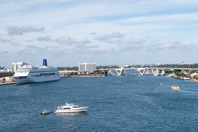 Ft. lauderdale, Aruba & Cartagena