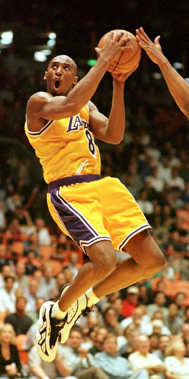 . 13. Kobe Bryant  (AP Photo/Chris Pizzello)