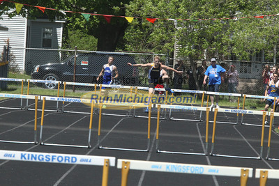 UP Boys' 300 Hurdles - 2014 MHSAA T&F Finals