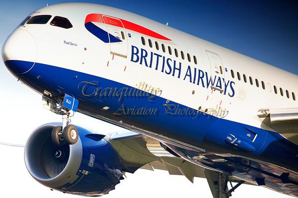 Civil Aviation Photography - London Heathrow, UK
