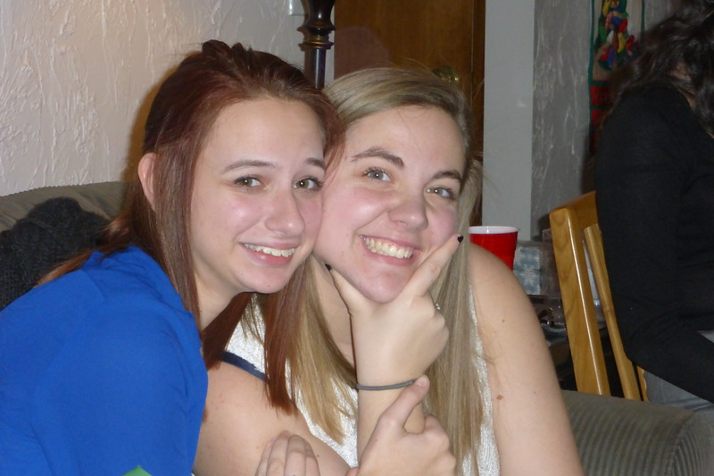 Samantha and Katie