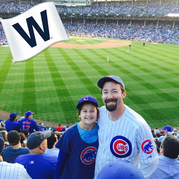 We believe! #GoCubsGo #flythew