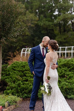 Katie & Zach's Elegant, Rustic Wedding at the Little Herb House