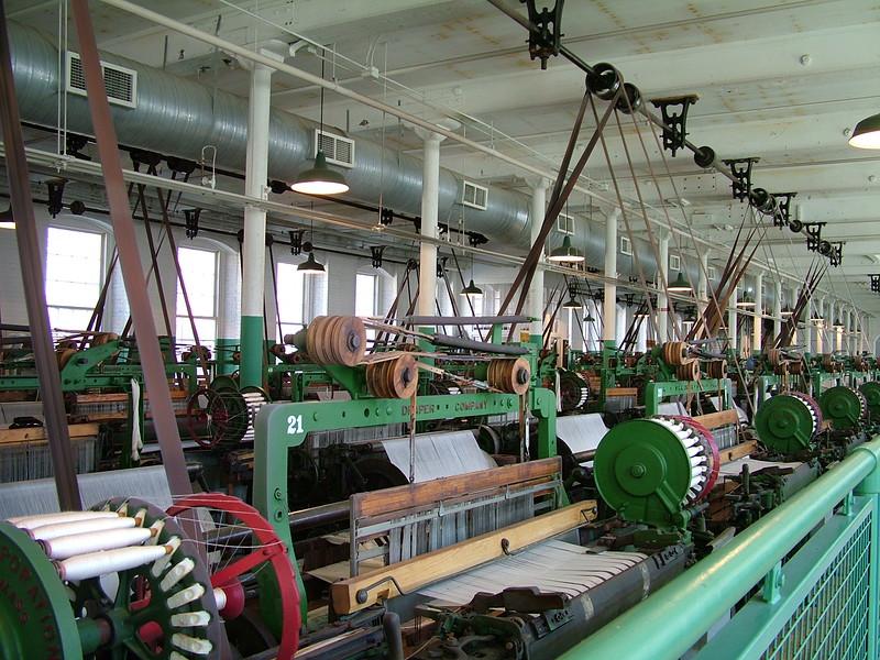 "Boott Cotton Mill ""Weave Room"" - Lowell, MA"
