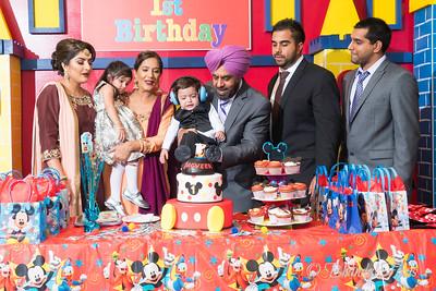 Jagveer Sanghera's 1st Birthday