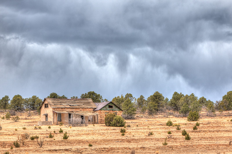 New Mexico Abandoned Ranch House