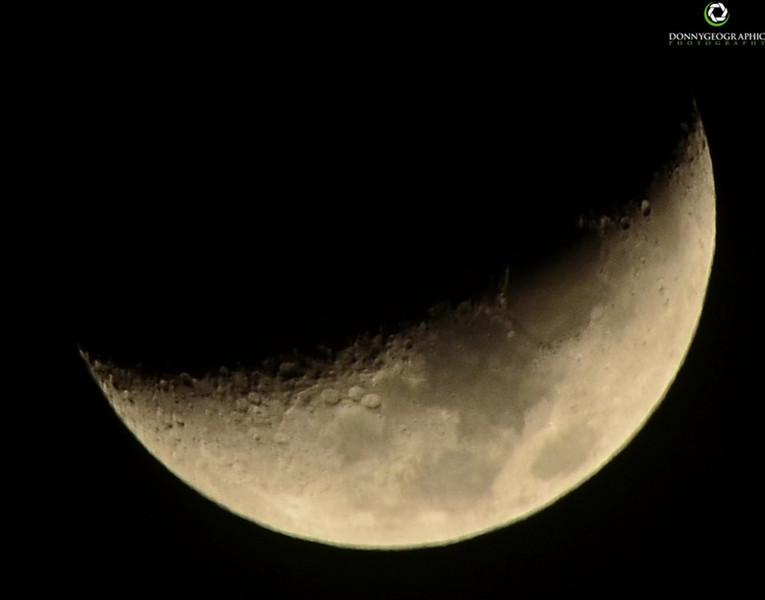 Moon over Palm Desert