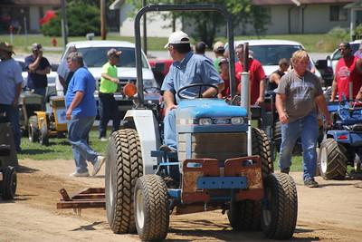 2012 Campbellsburg Hoedown Tractor Pull