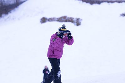 2016 01 Sledding Snow Storm
