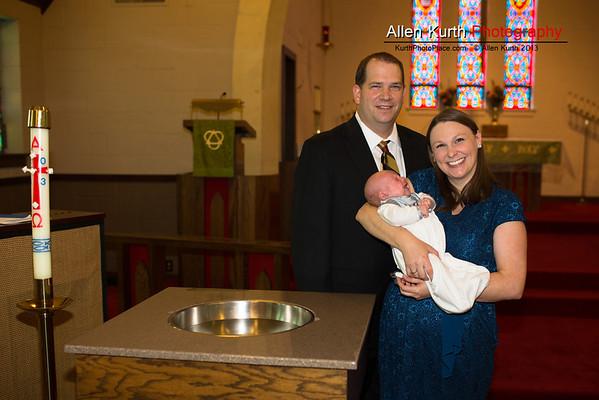 Benjamin Lorang Baptism