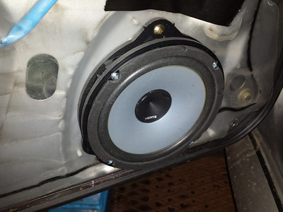 2004 Subaru Impreza STI Type UK Front Door Speaker Installation - United Kingdom