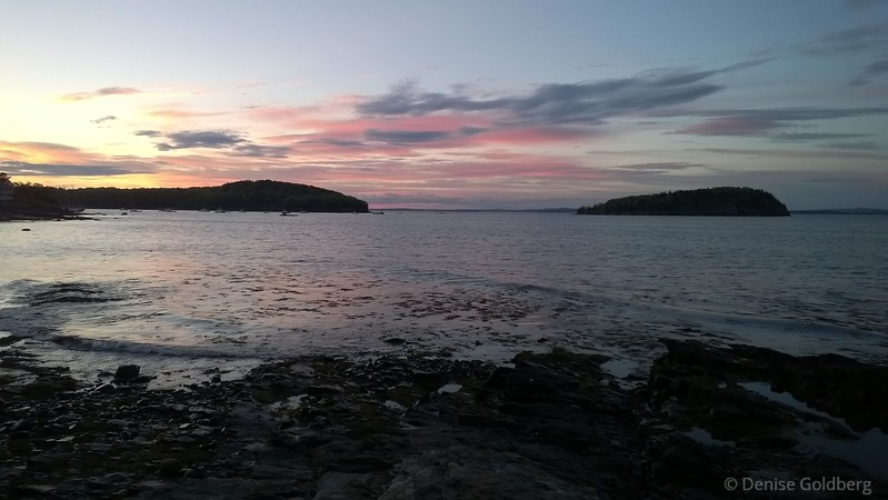 sunset, Bar Harbor, Maine